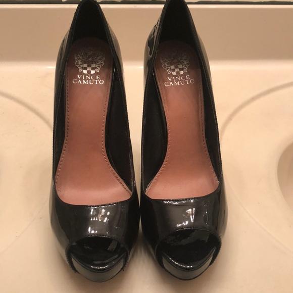 Vince Camuto Platform Peep Toe Heels